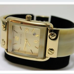 Michael Kors Polished Horn Ladies Watch